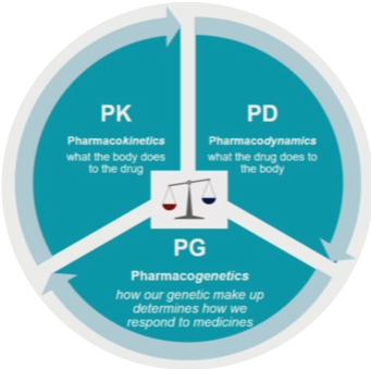 Figure 1. Vinks, AA. CCHMC Pediatric Grand Rounds presentation: Personalized Medicine through Model-informed Precision Dosing: What's Here – What's Near