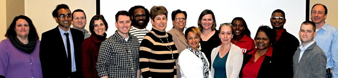 group photo of Community Leaders Institute Class of 2015